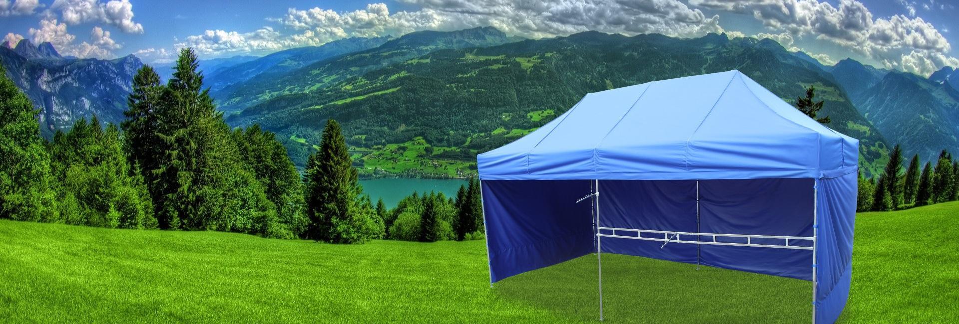 Modernistyczne Gralech – namioty handlowe producent | namioty ekspresowe NG82