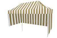 namiot 8kąt bialo bezowy