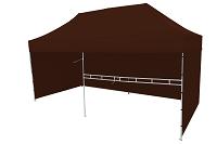 namiot 8kąt brazowy