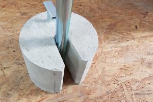 Obciaznik 15 kg betonowy
