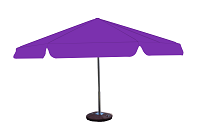 Parasol 8kąt fioletowy