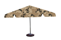 parasol 8kąt military