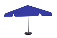 Parasol 8kąt niebieski