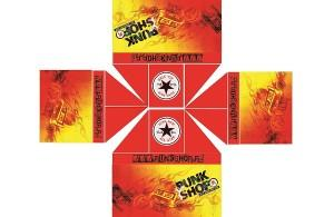 projekt nadruku Punk Shop