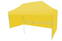 Namiot ekspresowy cytrynowy