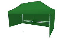 Namiot ekspresowy zielony